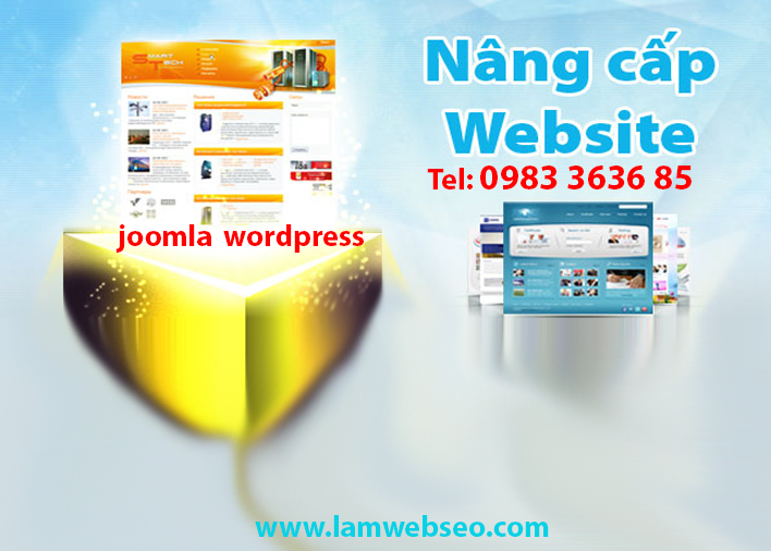 nang-cap-website